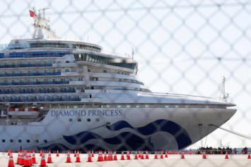 Another 39 people on Japan cruise ship test positive for coronavirus; 1 quarantine officer also infected