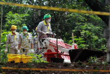 Indonesian authorities call for calm after radiation found at housing complex near Jakarta