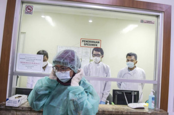 Indonesian student becomes first suspected case of Covid-19