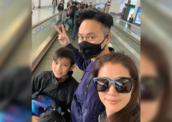 Anita Yuen's 13-year-old son cyber-bullied after dad Julian Cheung takes photo with ex-cop