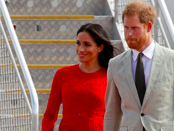 Prince Harry and Meghan make final split with British royal family