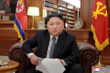 Kim ready to meet Trump 'anytime', but warns of 'new path'