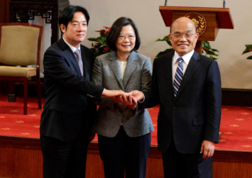 Taiwan appoints new premier after resignations over poll defeats