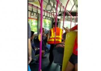 Man goes on a rant against driver of bus service 156 for driving too slowly