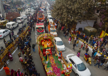 Hindus gather in India for world's largest festival