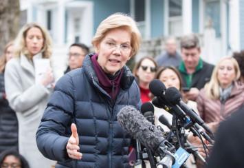 Democrat Elizabeth Warren takes step to challenge Trump in 2020