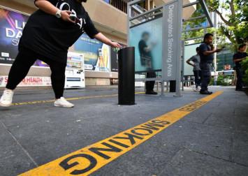 Smoking ban for Orchard Road kicks in