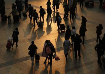 3 billion trips in 40 days: China begins Lunar New Year mass migration