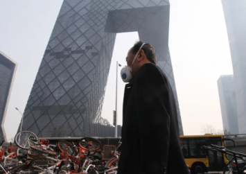 Dirty air in Chinese cities linked to unhappiness, study finds