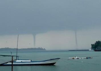 Tornado hits Bandung, damaging houses