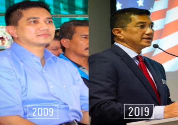 Azmin also takes up #10YearChallenge with Twitter post