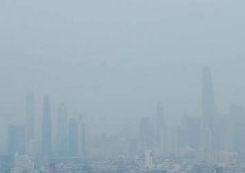 As kindergarteners ail, Bangkok joins top 10 for smog