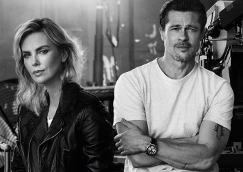 Is Brad Pitt dating Charlize Theron?