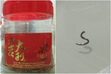 AVA recalls 'kok zai' peanut snack after metal fragment found in Malaysian product