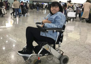 Hong Kong Airlines staff refused to allow wheelchair user on flight because she was alone and couldn't walk