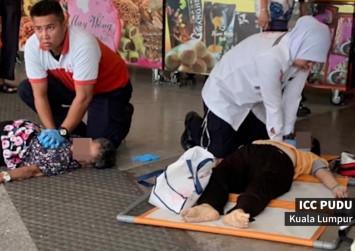 2 elderly women killed in free-meal frenzy