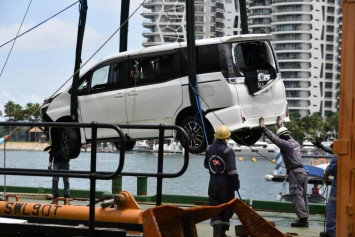 Drug user who drove into sea off Sentosa jailed and disqualified from driving