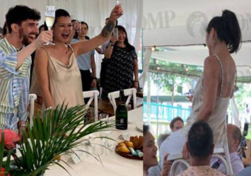 Singaporean woman's wedding with 'ang moh' husband at Clementi void deck is like no other