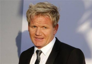Gordon Ramsay jokes his youngest son has already started swearing