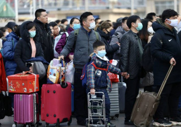 Masks sold out in central Beijing due to coronavirus epidemic