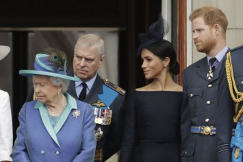 Britain's Queen Elizabeth calls family meeting about Prince Harry, Meghan