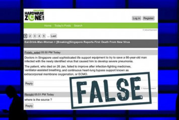 SPH Magazines complies with Pofma correction order on false HardwareZone post related to the Wuhan virus