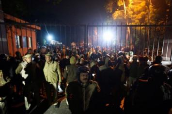 Attack at elite India university injures at least 23