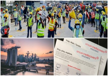Use your SingapoRediscovers vouchers to help migrant workers discover Singapore