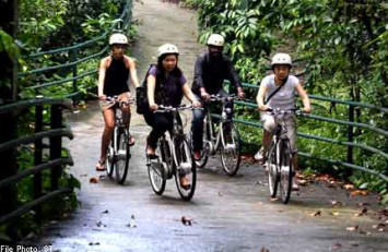 Where to hire a bicycle and ride