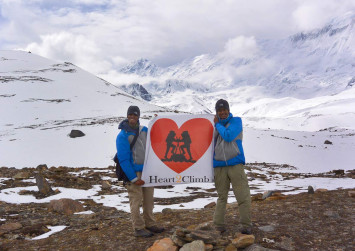 Trekking for charity