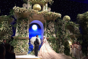 Lavish weddings and parties funded by rich parents that can feed an entire village