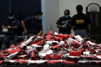 Global drug rings target Indonesia after shifting from Philippines