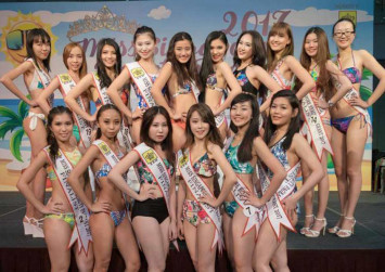 Photos: Beauty pageant contestants draw flak for their looks