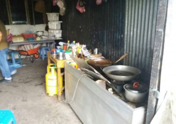 Man arrested for selling dog meat at Sibu food stall