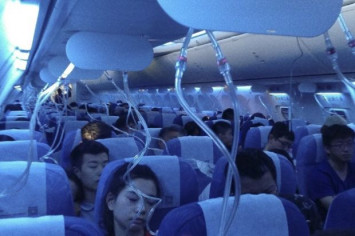 Air China plane loses cabin pressure mid-flight; emergency descent made, oxygen masks deployed