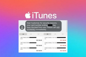 Singaporean billed $7,000 on iTunes after spate of fraudulent charges
