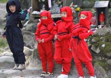 Wannabe ninjas plague Japan town after viral mix-up