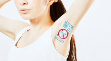 Japanese company uses armpit advertising to one-up competition
