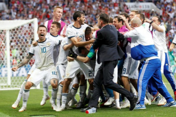 Russia's World Cup upset of Spain 'only the beginning', says Cherchesov
