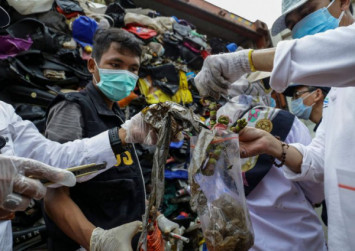 Indonesia to send 210 tonnes of waste back to Australia