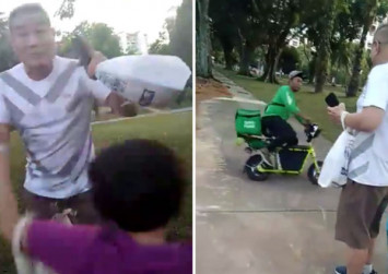 Grab investigating incident of man confronting delivery guy for allegedly speeding on PMD