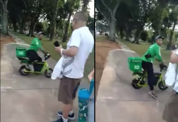 'Eh sial lah what I do I just came': Internet hails drifting GrabFood rider in viral tiff