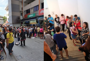 Huawei closes stores islandwide, enraging massive crowds who turned up for $54 phone deal