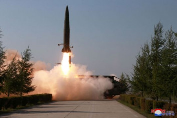 North Korea fired unidentified projectiles from around Wonsan: South Korea military