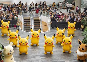 Catch Pikachu and friends dancing around Jewel Changi Airport only in July