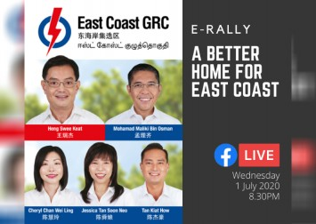 Watch: PAP's Heng Swee Keat and team share plans for East Coast GRC