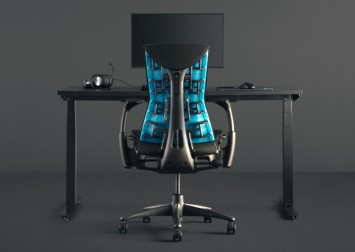 Logitech has joined forces with Herman Miller to make a $2,071 gaming chair