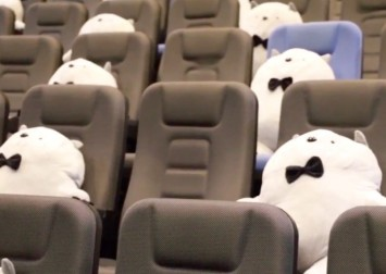 Cuddle without risk at this movie theatre in Changsha