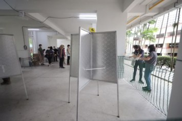 GE2020: Polling stations set up on Cooling-off Day as Singaporeans head to the ballot box on July 10