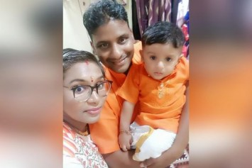 Coronavirus: Man's daily video calls with family in Johor Baru end in teary goodbyes